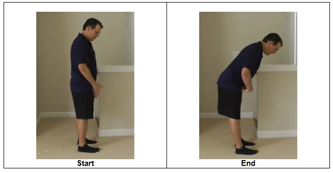 Hip Hinging and Bending through the hips