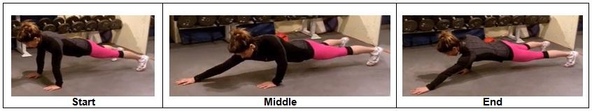 High Plank position