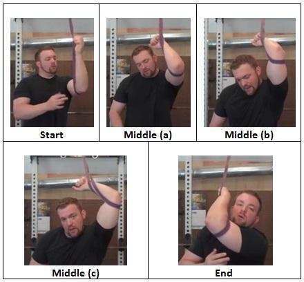 Modified Triceps Stretch