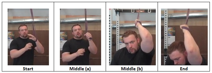 Tricep Stretch using a Jump Rope