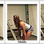 Blonde Bombshell  Barbell Workout